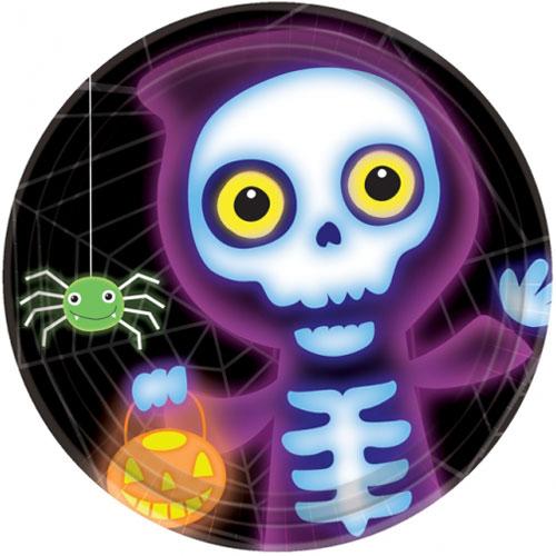 Boo Crew Halloween Tallrikar