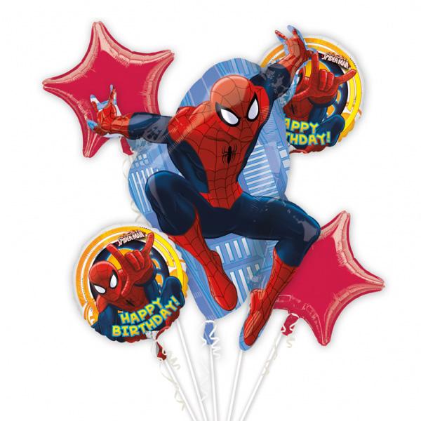 Spiderman Ballongbukett