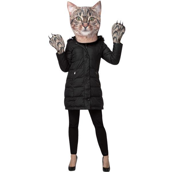 Katt Maskeraddräkt