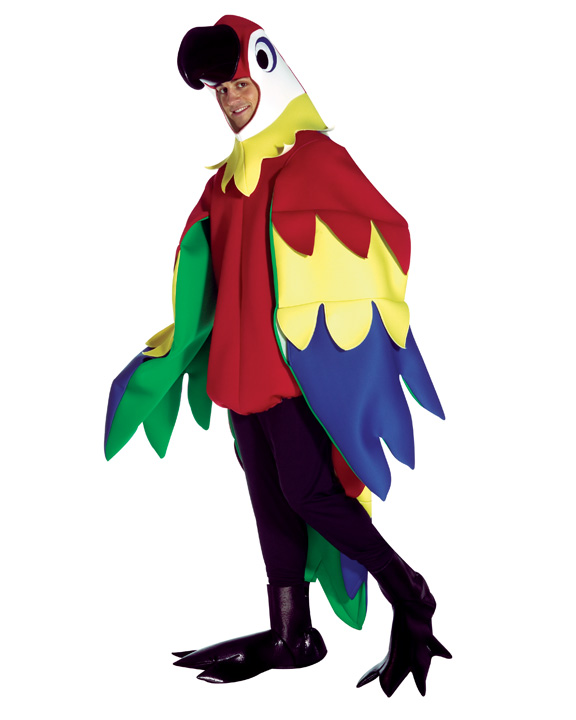 Papegoja Maskeraddräkt