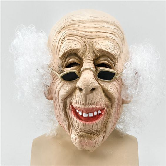 Gammal Gubbe Mask