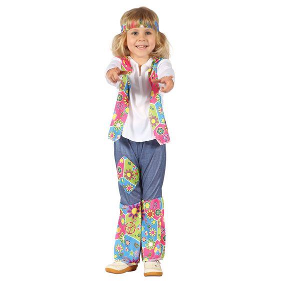 Hippietjej Barn Maskeraddräkt
