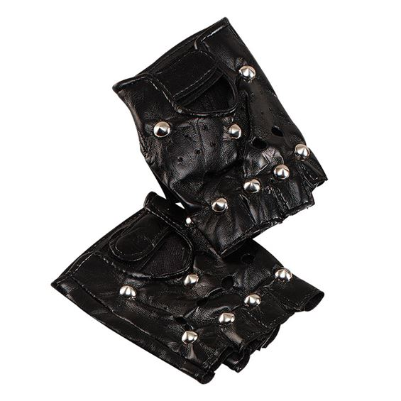Punk Handskar med Nitar