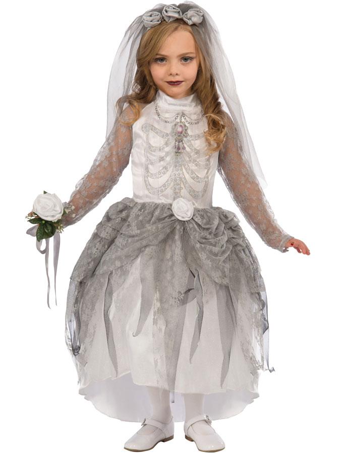 Skelettklänning Barn (Small (3-4 år))