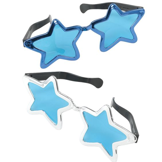 Stora Solglasögon Stjärnor