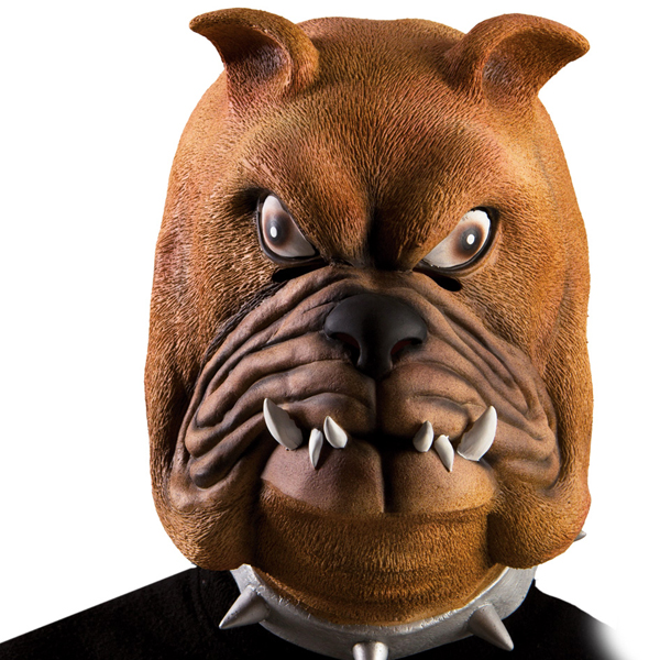 Bulldog Mask I Latex