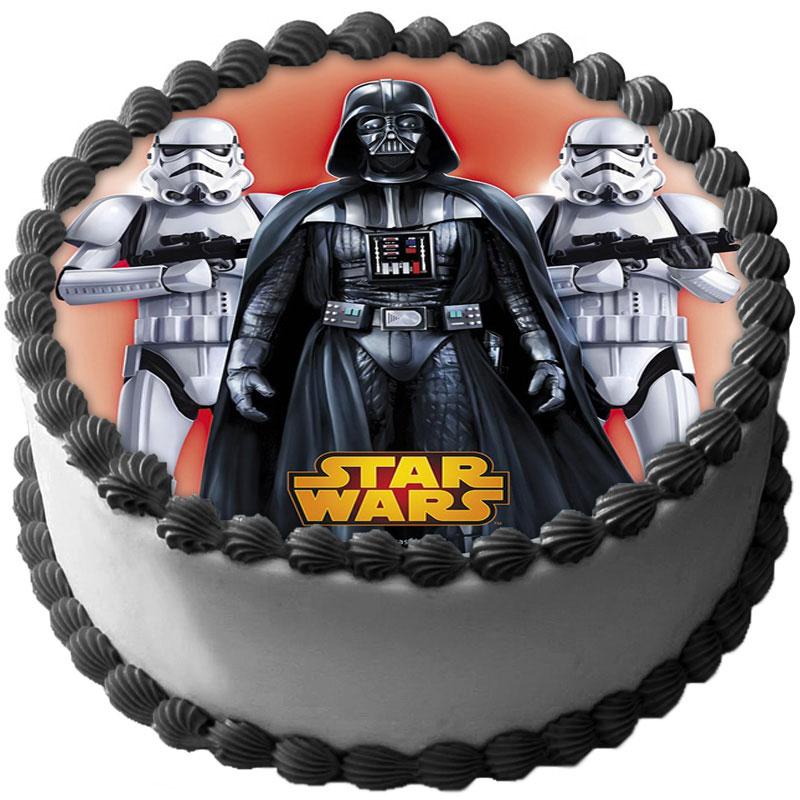 Star Wars Tårtoblat Sockerpasta (16cm)