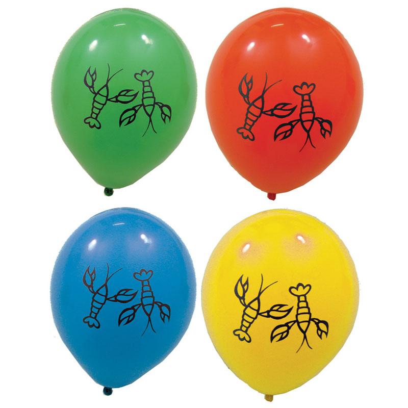 Kräftskiva Ballonger