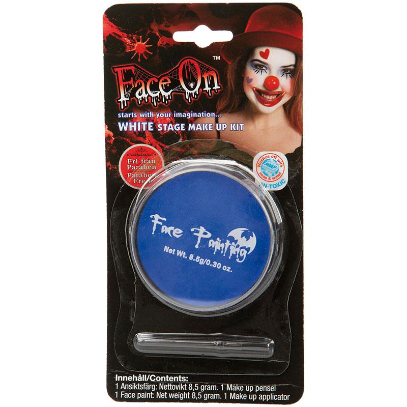 Face-On Blå Ansiktsfärg