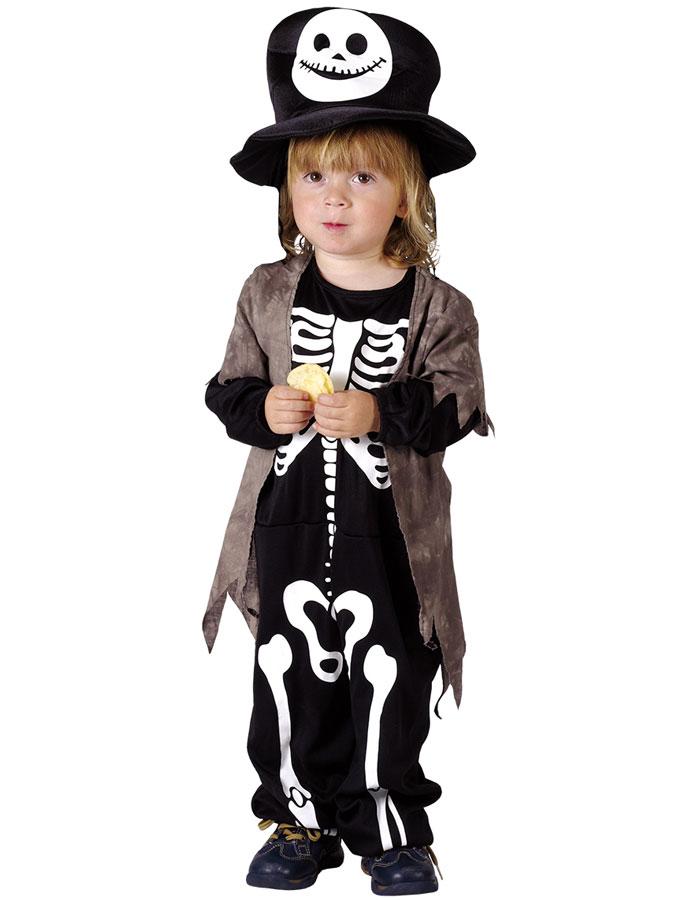 Gröngöling Skelettdräkt Barn