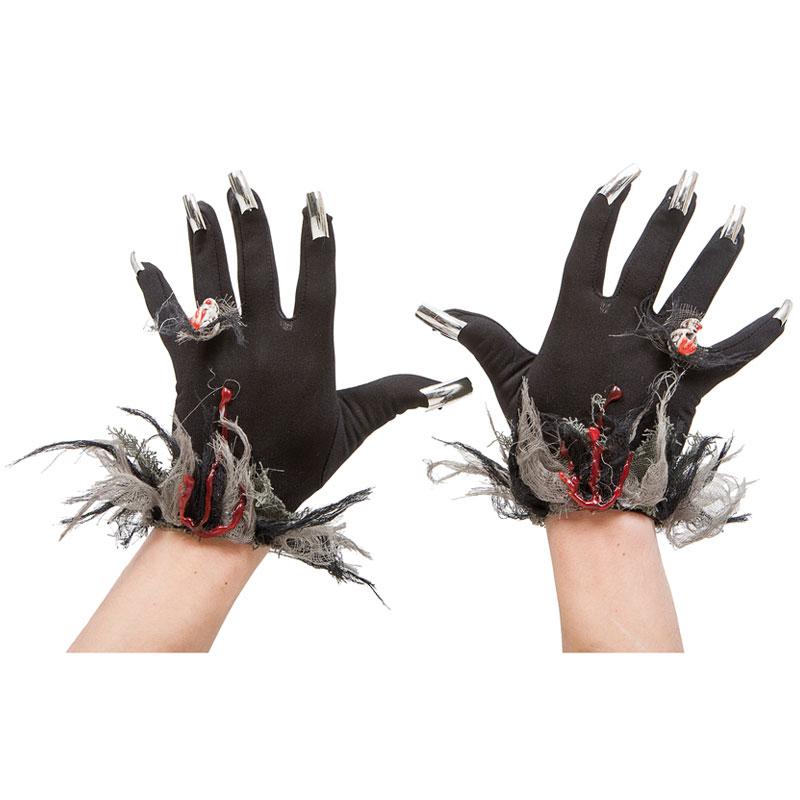Halloween Handskar med Klor