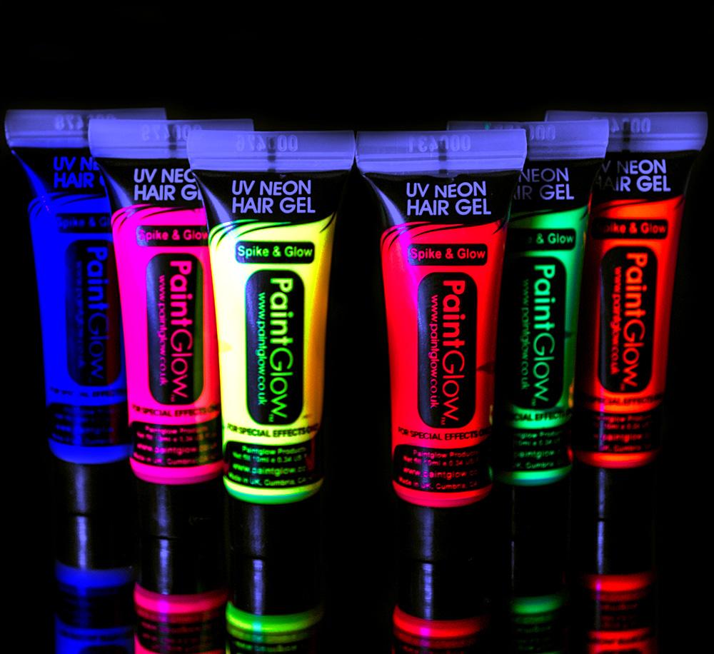 UV Neon Hårgele (Rosa)