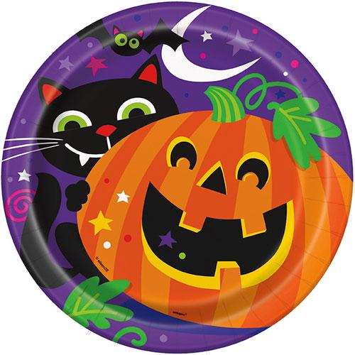 Halloween Papptallrikar