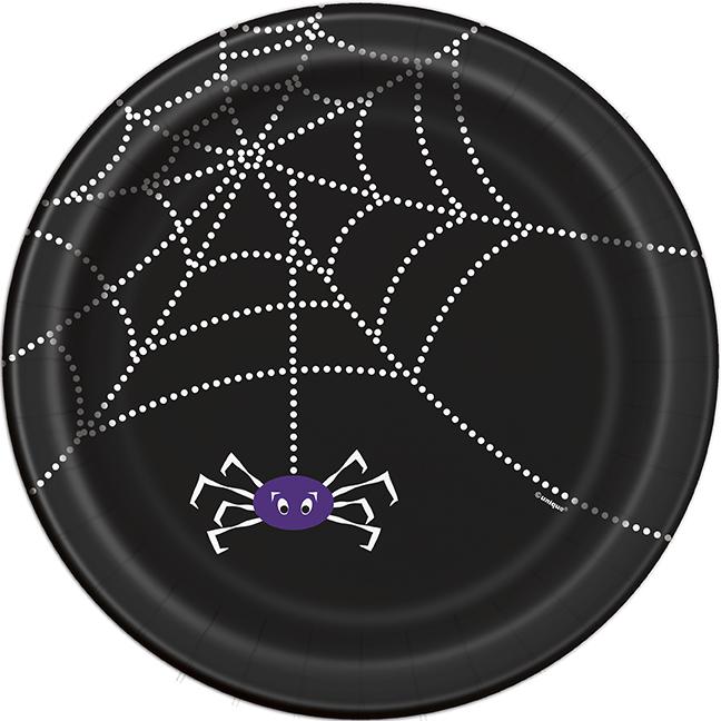 Spider Web Papptallrikar