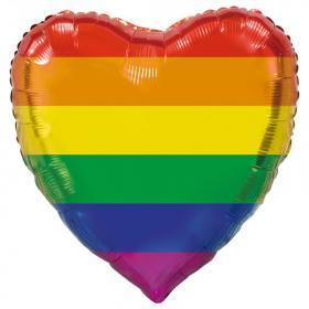 Pride Hjärta Folieballong XL