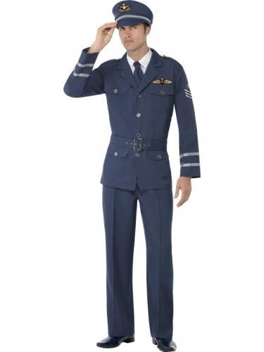 Air Force Pilot Kostym Maskeraddräkt Large 76e4a27daa825