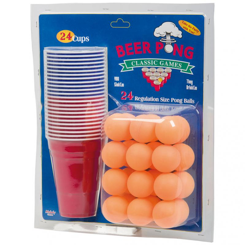 Klassisk Beer Pong Set