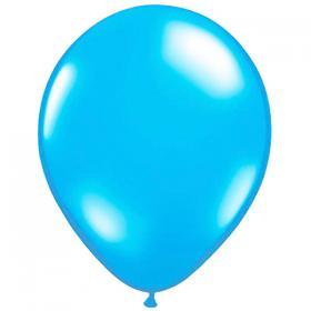 Metallic Ballonger Ljusblå