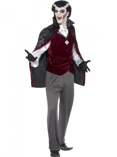 Vampyr Kostym Maskeraddräkt Large b8b491ee88153