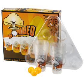 Bombed Beer Pong Set