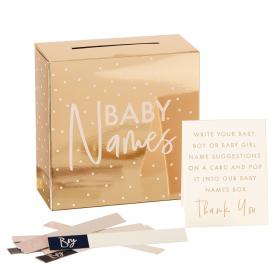 Baby Names Box