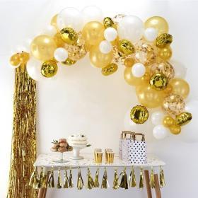 Ballongbåge Kit Guld