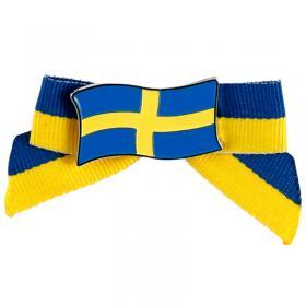 Brosch med Rosett Sverige