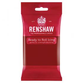 Renshaw Sockerpasta Ruby Red 250 gram