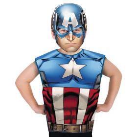 Captain America Partytime Set Barn