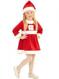 Santa Claus Girl Tomteklänning Barn