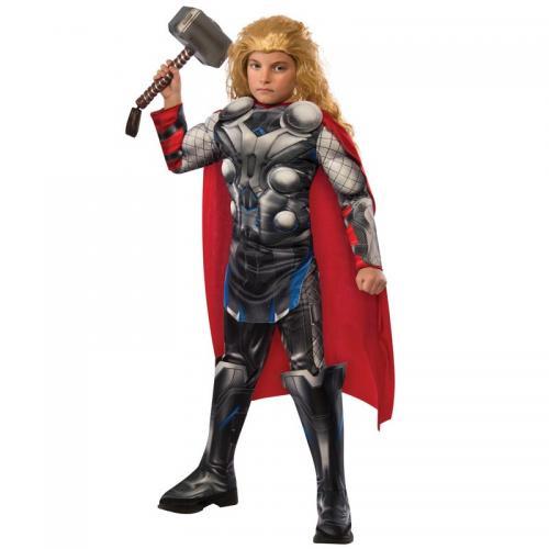 0bc75dd407e7 Avengers Thor Dräkt Barn Deluxe - Partyhallen.se