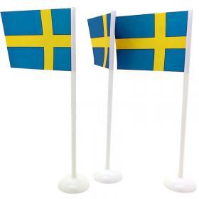 Bordsflaggor Svenska Flaggan