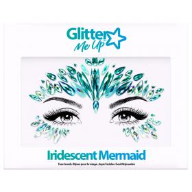 Iridescent Mermaid Ansiktssmycken