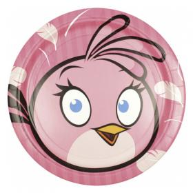 Angry Birds Pink Assietter