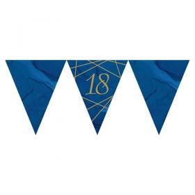 18 Års Flaggirlang Marinblå