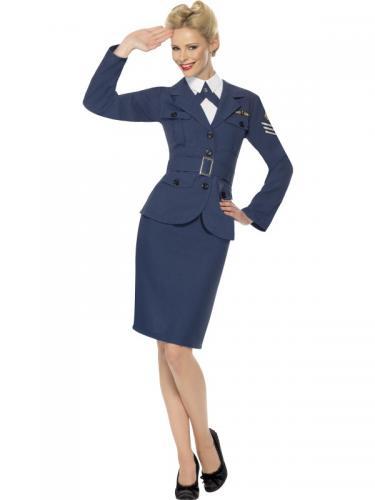 Kvinnlig Pilot Kostym Maskeraddräkt - Partyhallen.se 7aa52794b9999