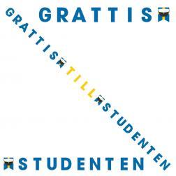 Grattis Till Studenten Banderoll