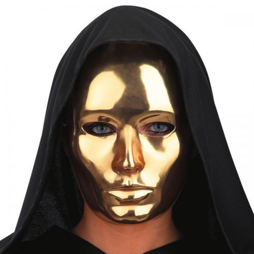Robotmask guld - Masque halloween qui fait peur ...