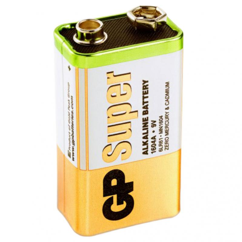 9V-Batteri GP Super Alkaline