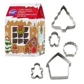Mini Pepparkaksformar Set