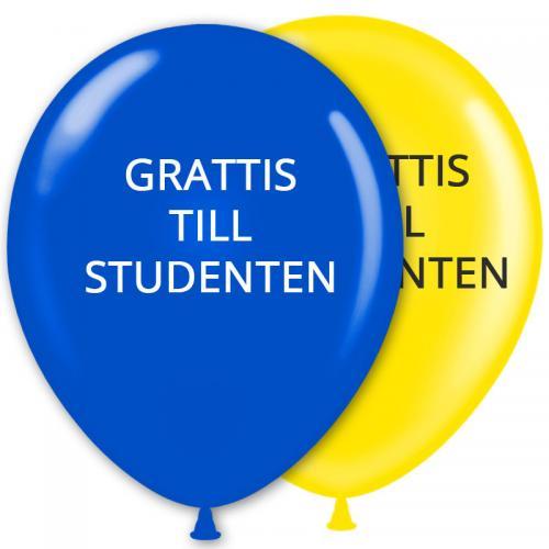 grattis studenten Ballonger Student Grattis   Partyhallen.se grattis studenten