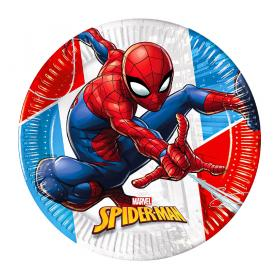 Spiderman Pappersassietter Komposterbara