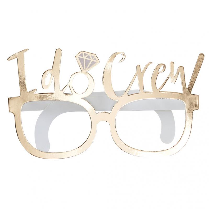 I Do Crew Pappglasögon