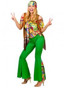 Groovy Hippie Dam Maskeraddräkt