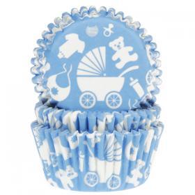 Muffinsformar Baby Blå
