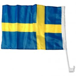 Bilflagga Sverige