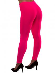 80-tals Leggings Neonrosa