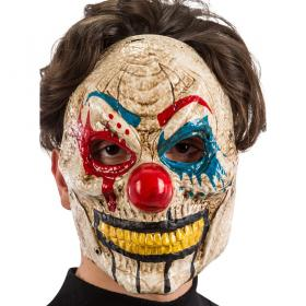 Clown Mask med Rörlig Käke