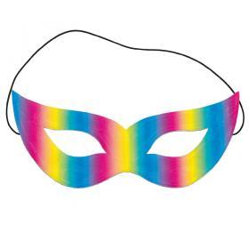 Reflekterande Mask Regnbågsfärgad