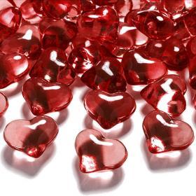 Bordsdekorationer Hjärtan Röda